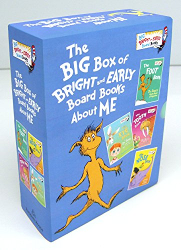 9780553536294: The Big Box of Bright and Early Board Books About Me (Big Bright & Early Board Book)