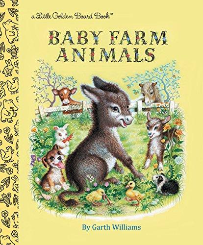 9780553536324: Baby Farm Animals (Little Golden Board Book)