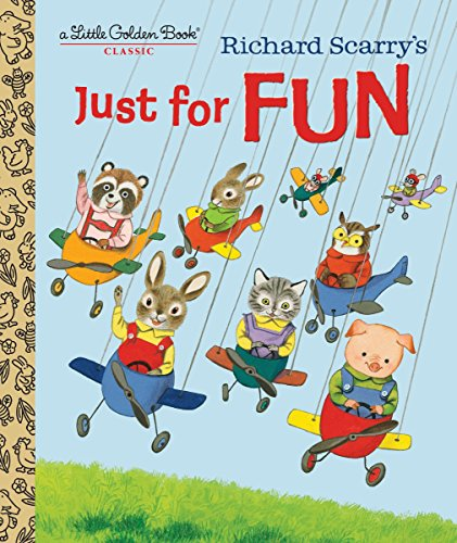 9780553536621: Richard Scarry's Just For Fun (Little Golden Book)