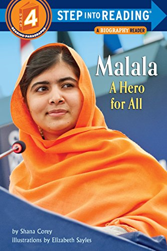9780553537611: Malala: A Hero for All (Step into Reading)