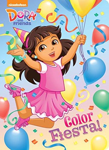 9780553538397: Color Fiesta! (Dora and Friends)
