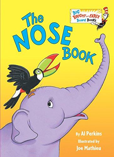9780553538632: The Nose Book (Big Bright & Early Board Book)