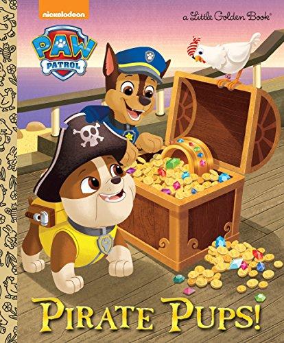 9780553538885: Pirate Pups! (Little Golden Books: Paw Patrol)