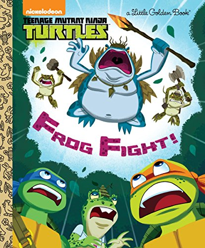 9780553539073: Frog Fight! (Teenage Mutant Ninja Turtles) (Little Golden Book)