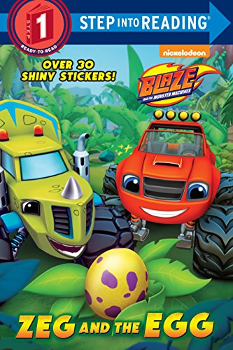 9780553539356: Zeg and the Egg (Blaze and the Monster Machines) (Step into Reading)