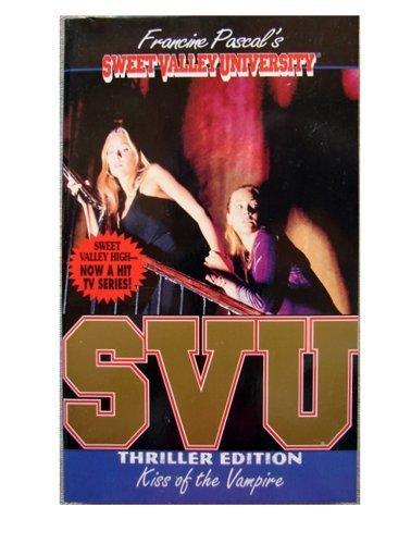 9780553542332: Kiss of the Vampire (Sweet Valley University)