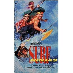 9780553563610: Surf Ninjas: A Novel