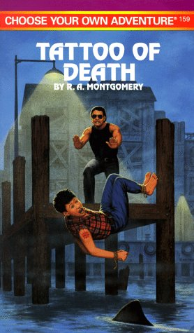 9780553566161: Tattoo of Death (Choose Your Own Adventure No. 159) (Book 159)