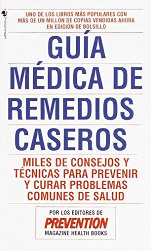 9780553569865: Guía médica de remedios caseros
