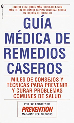 Guía médica de remedios caseros (9780553569865) by Prevention Magazine Editors