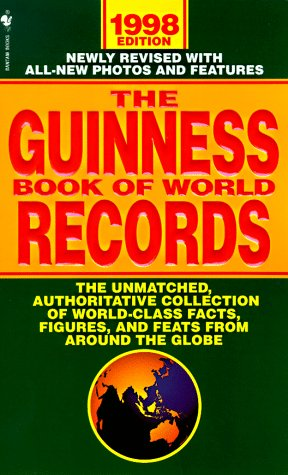 9780553578959: The Guinness Book of World Records 1998 (Guinness Book of Records, 1998)
