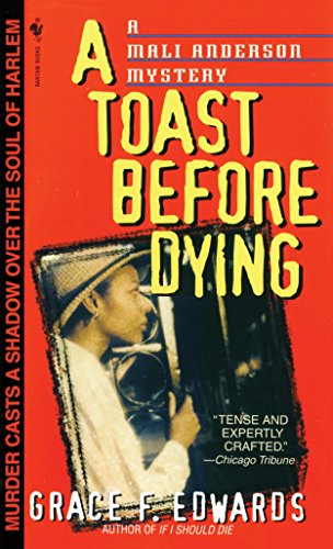 9780553579536: A Toast Before Dying (Mali Anderson Mystery)