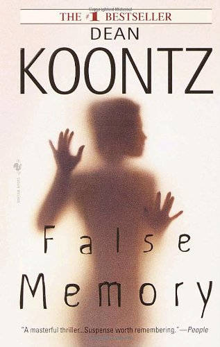 False Memory (0553580221) by Dean Koontz