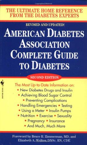 9780553583007: American Diabetes Association Complete Guide to Diabetes