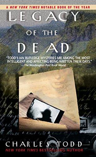 9780553583151: Legacy of the Dead (Inspector Ian Rutledge Mysteries)