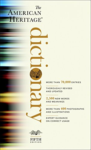 9780553583229: The American Heritage Dictionary: Fifth Edition