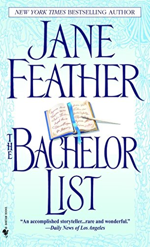 The Bachelor List (0553586181) by Jane Feather