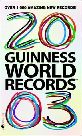 9780553586367: Guinness World Records 2003