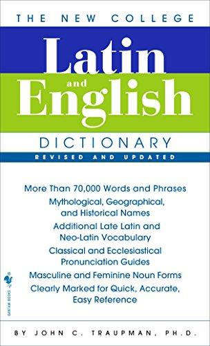 9780553590128: The Bantam New College Latin & English Dictionary (English and Latin Edition)