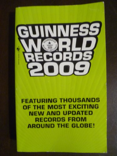 Guiness Book of World Records 2009: unknown