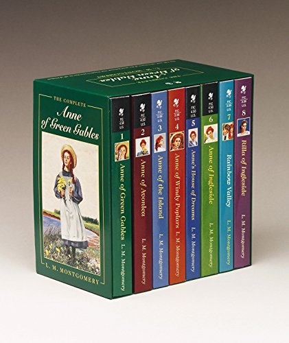 9780553609417: Anne of Green Gables, Complete 8-Book Box Set: Anne of Green Gables; Anne of the Island; Anne of Avonlea; Anne of Windy Poplar; Anne's House of Ingleside; Rainbow Valley; Rilla of Ingleside
