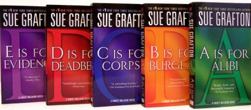 Sue Grafton: The Kinsey Millhone Mysteries ('A' Is for Alibi / 'B' Is for ...