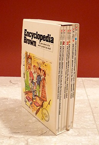 9780553618334: Encyclopedia Brown Boy Detective 1: Encyclopedia Brown and the Case of the Secret Pitch/Encyclopedia Brown Finds the Clues/Encyclopedia Brown Gets H