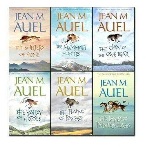 Jean Auel (The Mammoth Hunters / The Valley of Horses / The Shelters of Stone / Clan...