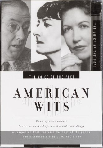9780553756630: Voice of the Poet: American Wits: Ogden Nash, Dorothy Parker, Phyllis McGinley