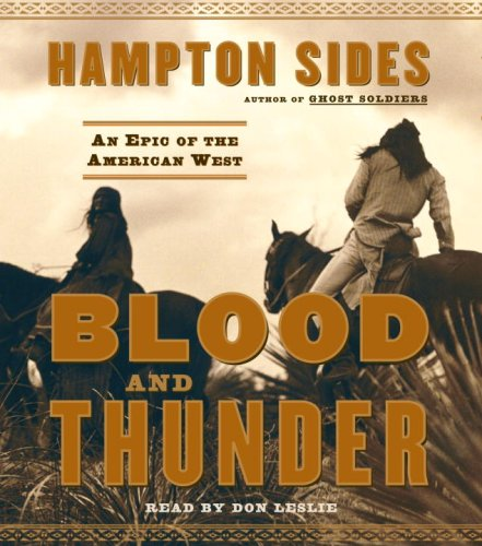 9780553756814: Blood and Thunder: An Epic of the American West