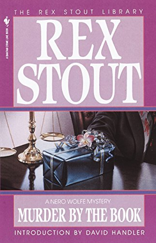 9780553763119: Murder by the Book (Nero Wolfe)