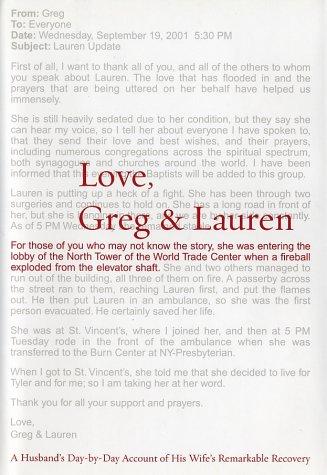 9780553802979: Love, Greg & Lauren