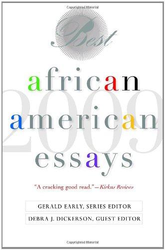 9780553806915: Best African American Essays: 2009