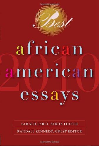 Best African American Essays 2010