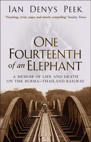 9780553816570: ONE FOURTEENTH OF AN ELEPHANT - A memoir of life and death on the Burma - Thailand Railway