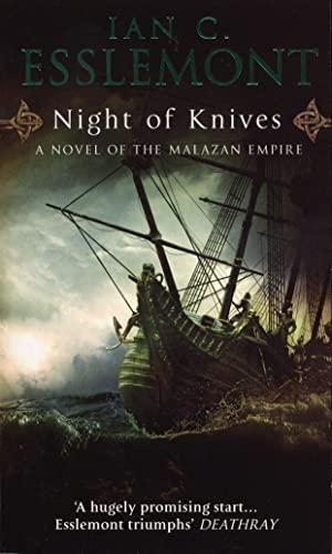 9780553818291: Night Of Knives: A Novel Of The Malazan Empire