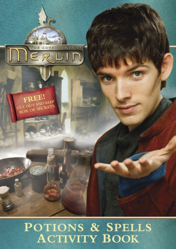 9780553822083: Merlin Potions and Spells Activity Book