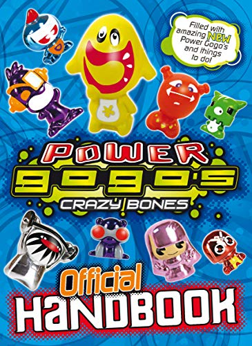 9780553822175: Power Gogo's - Crazy Bones Official Handbook