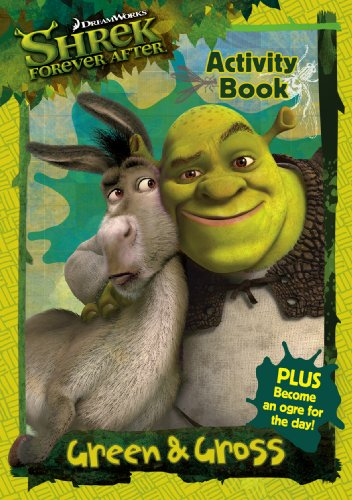 9780553822359: Shrek Forever After: Green and Gross Activity Book