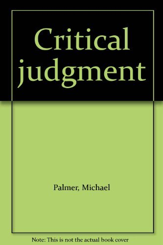 9780553840155: Critical judgment