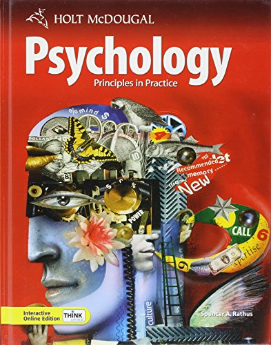 Psychology: Principles in Practice: Rathus, Spencer A.