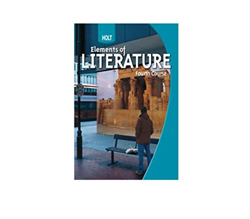 9780554005911: Elements of Literature Pennsylvania: Student Edition Fourth Course 2009
