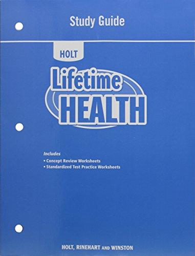 9780554007793: Lifetime Health: Study Guide