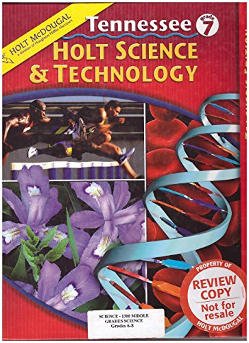 9780554009414: Holt McDougal Tennessee Grade 7 Holt Science and Technology Teacher's Edition'