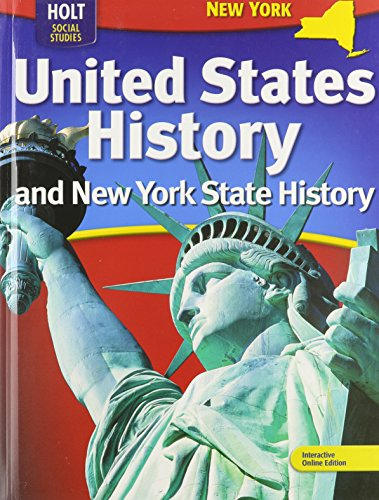 9780554013008: Holt McDougal United States History New York: Student Edition Grades 6-9 2009