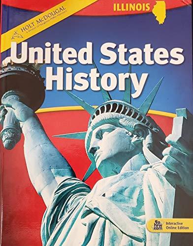 9780554013015: Holt McDougal United States History Illinois Edition