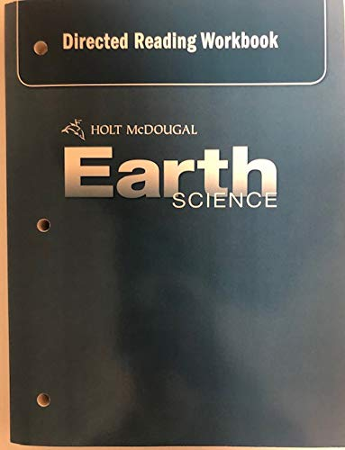 9780554016207: Holt McDougal Earth Science: Directed Reading Workbook