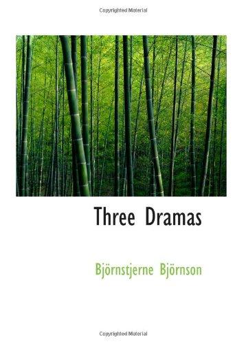 9780554018812: Three Dramas