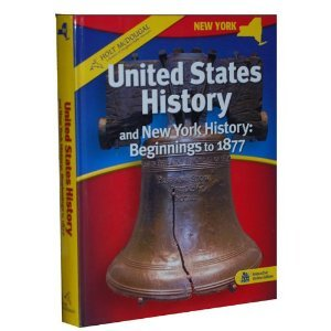 9780554024622: United States History and New York History: Beginnings to 1877