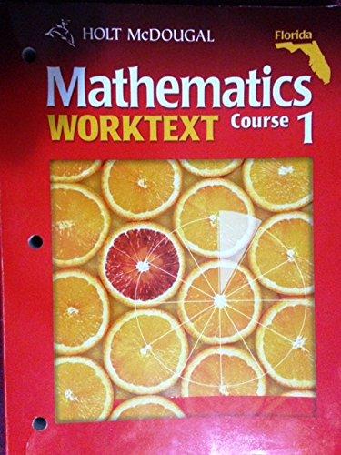 Holt McDougal Mathematics Florida: Student Worktex 6: HOLT MCDOUGAL